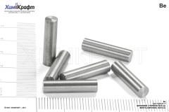 Beryllium metal rod, 99.9% (size 20x5mm)