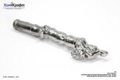 Niobium zone refined monocrystalline rod, (366g) 99.99%