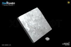 Silicon monocrystaline tile, 99.999%