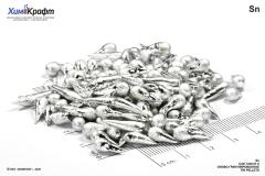 Tin pellets, 99.9% (pure p.a.)
