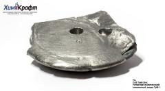 Thulium metal, melted ingot