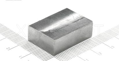 Beryllium metal bar, 99.9% (size 30x20x10mm)