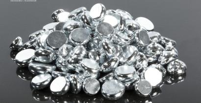 Gallium metal granular, 99.9997%