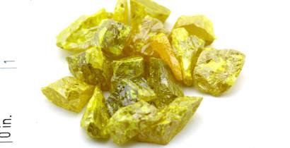 Zinc selenide, crystalline
