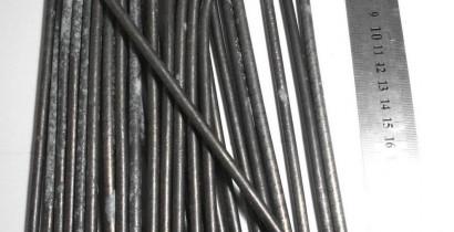 Yttrium metal, rods