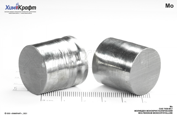 Molybdenum zone refined monocrystal, 99.99%
