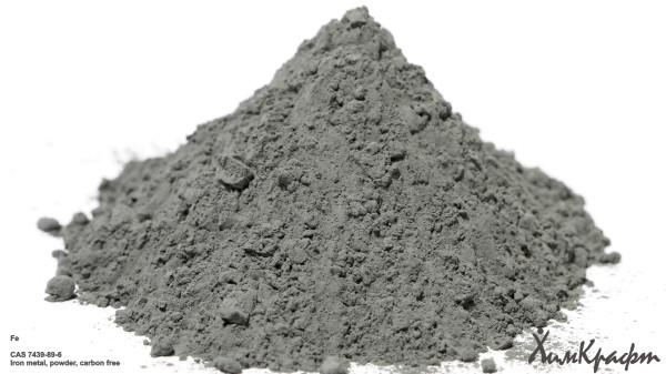 Iron metal powder carbon free, 99.995%