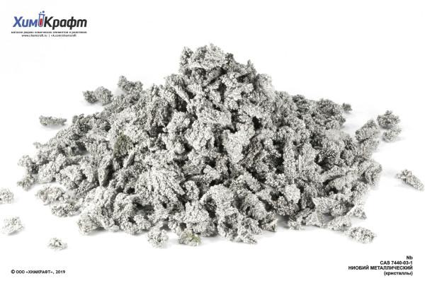 Niobium metal large crystal flakes, 99.9%
