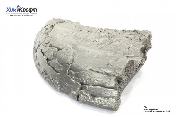 Terbium metal, 99.9%
