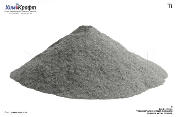 Titanium metal powder, 99%